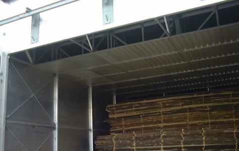 Suszarnie do drewna kominkowego Ventech- strop pozorny