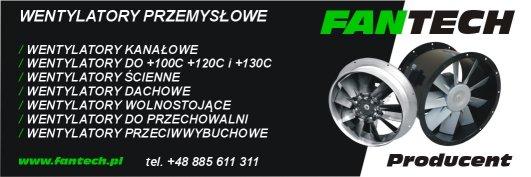 Wentylatory Fantech